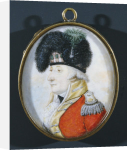 Colonel Henry Nairne Facing Left In Military Uniform And Plumed Hat by Christie's Images