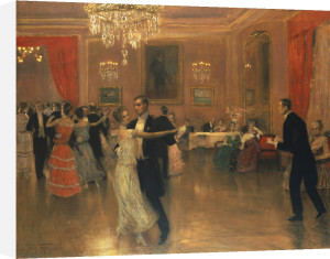 At The Ball by Frederick Vezin