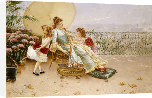 Mother's Day, 1886 by William Feron