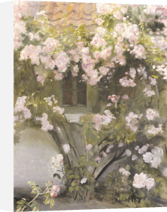 Climbing Roses, 1912 by Michael Peter Ancher