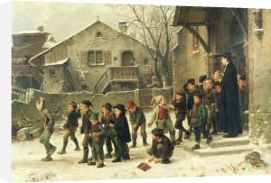 After Class,1859 by Marc Louis Benjamin Vautier