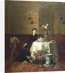 Taking Tea by David Noter