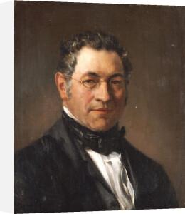 Portrait Of Professor Siegfried Dehn (1799-1858), 1854 by Adolf Von Menzel