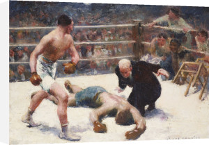 The Knock Out by Claude Charles Bourgonnier