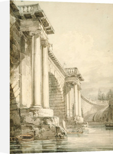 Old Blackfriars Bridge, London by Joseph Mallord William Turner