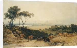 London: Autumnal Morning by Joseph Mallord William Turner