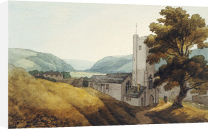 From The Churchyard At Dulverton, Somerset by John White Abbott
