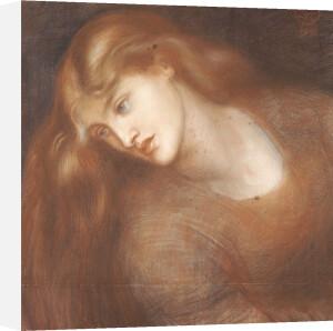 Aspecta Medusa, 1867 by Dante Gabriel Rossetti