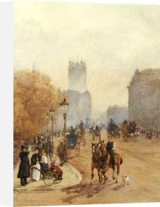 Parliament Street, 1892 by Rose Maynard Barton