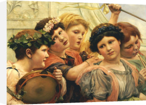 The Young Musicians by George Edward Robertson