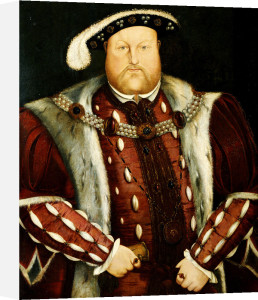 Portrait Of King Henry VIII by Christie's Images