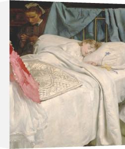 Sleeping Bart c.1865. by Sir John Everett Millais