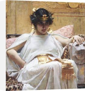Cleopatra, Circa 1887 by John William Waterhouse