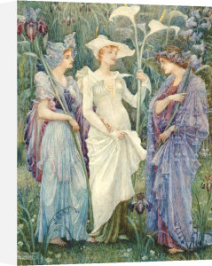 Ensigns Of Spring, 1894 by Walter Crane