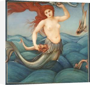 A Sea-Nymph, 1881 by Sir Edward Burne-Jones