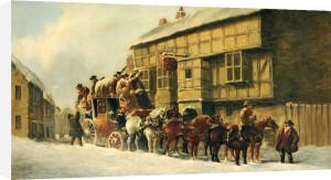 Outside The George Inn, 1879 by John Christian Maggs