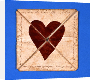 Puzzle Purse Valentine, c.1790 by Christie's Images