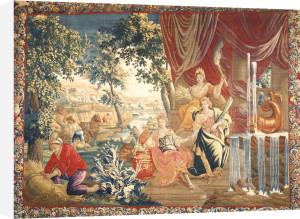 Summer. A Brussels Tapestry From The Series Of The Seasons by Christie's Images