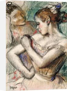 Dancers, 1896 by Edgar Degas