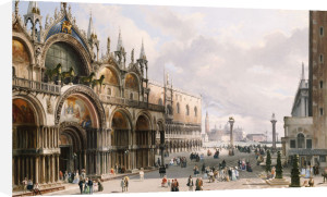 St. Mark's And The Doge's Palace, Venice by Carlo Grubacs