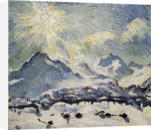 Sole D'inverno, 1924 by Giovanni Giacometti