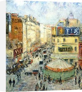 La Rue De Clignancourt, 1924 by Gustave Loiseau