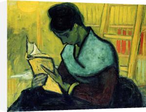 A Novel Reader, 1888 by Vincent Van Gogh