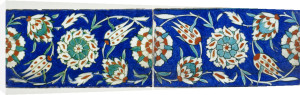 Isnik Polychrome Tiles by Christie's Images