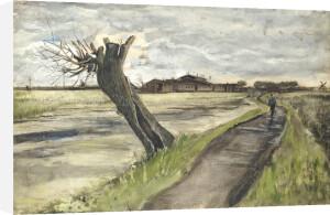 Pollard Willow, 1882 by Vincent Van Gogh