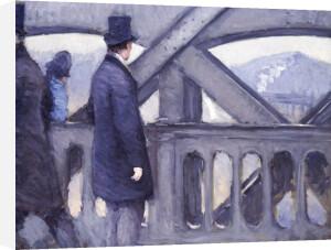 Le Pont De L'Europe, 1876 by Gustave Caillebotte