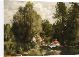 The Pond At Fees by Pierre Auguste Renoir