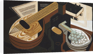 The Mandolin, 1921 by Juan Gris