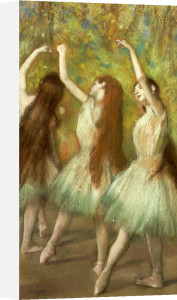 Green Dancers, 1878 by Edgar Degas