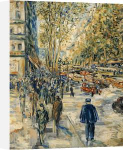Champs Elysee by Jean Francois Raffaelli