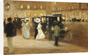 Getting Into The Car, 1908 by Amedee Julien Marcel-Clement