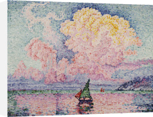 Pink Clouds, Antibes, 1919 by Paul Signac