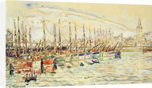 Les Sable D'Olonne, 1922 by Paul Signac