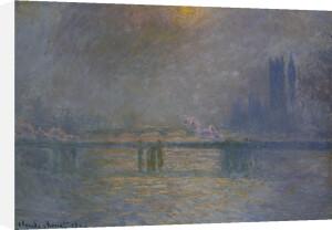 Charing Cross Bridge, The Thames, 1900 by Claude Monet