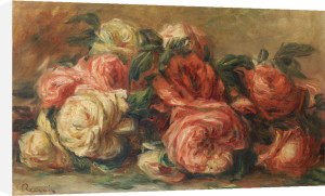 Discarded Roses by Pierre Auguste Renoir