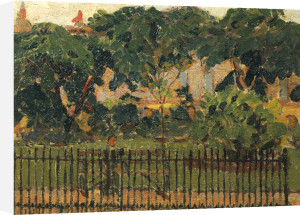 The Park Railings, Mornington Crescent by Spencer Gore