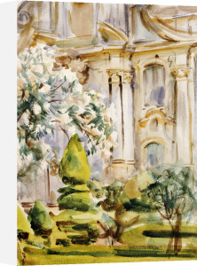 Palace And Gardens, Spain, 1912 by John Singer Sargent