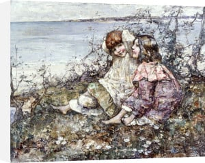 Summer, Brighouse Bay, 1919 by Edward Atkinson Hornel