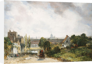 View Of The City Of London From Sir Richard Steele's Cottage, Hampstead, Circa 1832 by John Constable