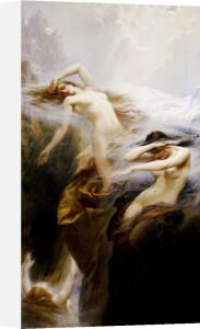 The Mountain Mists by Herbert James Draper