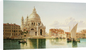The Santa Maria Della Salute, Venice by William Hickling Burnett