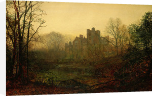 An October Afterglow, 1871 by John Atkinson Grimshaw