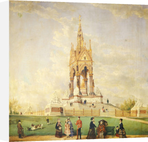 The Albert Memorial, London, 1877 by Edwin Frederick Holt