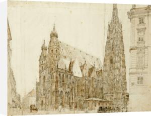 St Stephen's Cathedral, Vienna by Rudolf Von Alt