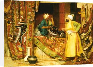Carpet Seller, 1871 by Jean Georges Vibert