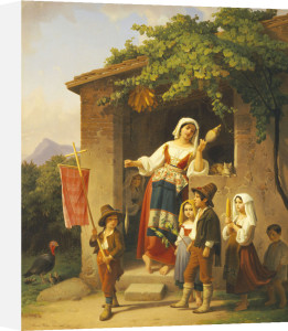 The Festival by Theodor Leopold Weller